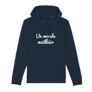 Sweat à capuche Monde