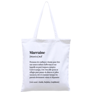 Totebag Marraine