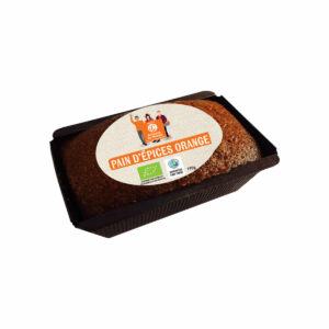 Pain d'épices BIO Orange 190g